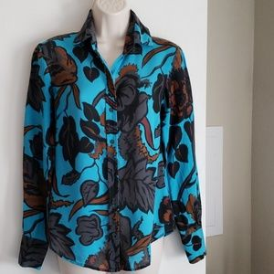 The Limited Silk Blouse Size S